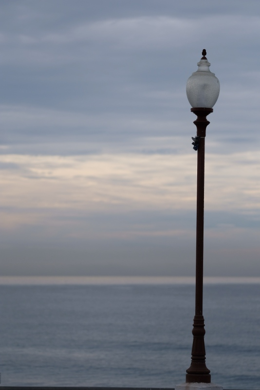 Lampost at Oceanside Fishing Pier