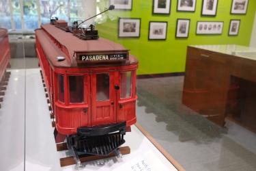 Red Car Model in Orientation Gallery